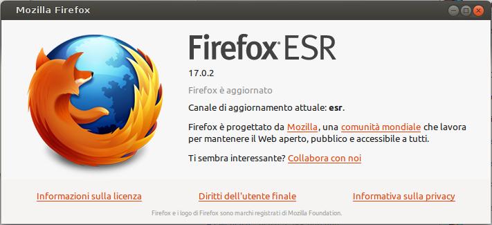 Firefox ESR 17